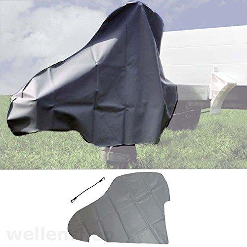 wellenshop Deichselhaube Schutzhülle PVC Schutzplane für Anhängerkupplung