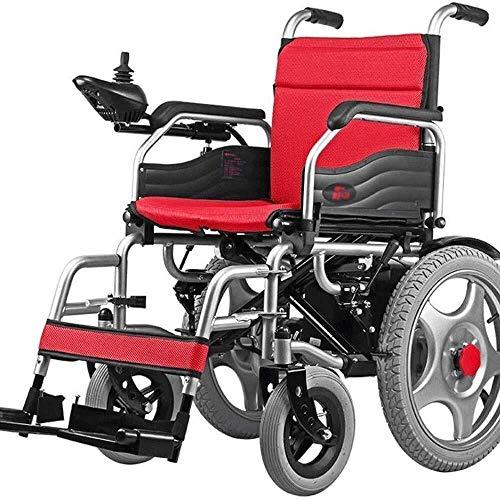 HWZLOIK Rolstoel, Old Cart, licht, lichtgewicht opberg- Klapstoel, ouderwets Scooter Volautomatische, Afmetingen: 108 × 67 × 91cm