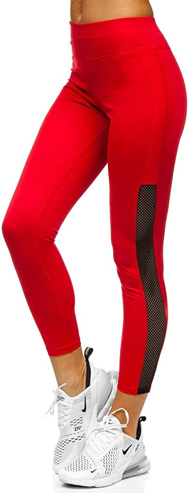 Bolf,  leggings, pantaloni collant, jogging, yoga, fitness, sportivi, lunghi elastici,vita alta, per donna J.STYLE YW01056