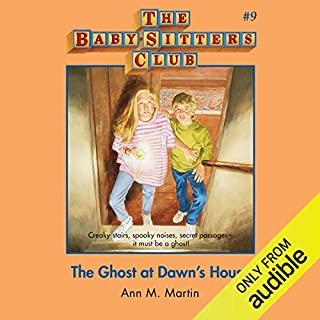 The Ghost at Dawn's House audiobook cover art