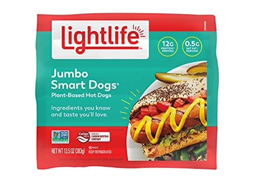 Lightlife, Smart Dogs Jumbo, 13.5 Ounce