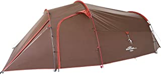 Soomloom 林間4 アウトドアキャンピングテント 4人用 トンネルテント 広いリビング 二重層 自立式 軽量 コンパクト 防風防水 耐水圧3000 UV40+
