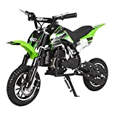 Dirt Bike 49cc 2 Stroke Mini Gas Scooters - Powersports Kids Motorcycle Gas Scooter for Girls and Boys,Off Road Racing Motorcoss Bike