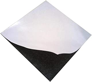 Black Heat Resistant Thin Silicone Rubber Gasket Sheet Adhesive Back,1/25 by 12 by 12 inch