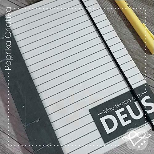 Caderno Devocional - Meu tempo com Deus - Cinza