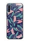 Caler Cover Compatibile con Samsung Galaxy Note 9 Custodia Protettiva in Vetro Temperato 9H 【AntiGraffio】 + Cornice Paraurti in TPU Silicone Morbido 【Antiurti】 3D Design Vogue Ultra Chic