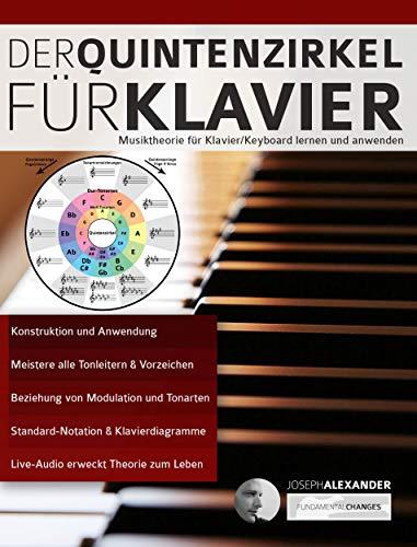 Der Quintenzirkel für Klavier: Musiktheorie für Klavier/Keyboard lernen und anwenden