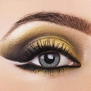 Gris Lente–de diferentes colores/Contacto lente como Año lente sin grosor gris Contacto lente Año lente + Gratis Depósito