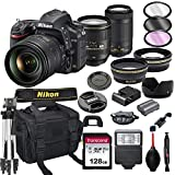 Nikon D750 DSLR Camera with 24-120mm VRand 70-300mm Lens Bundle +...