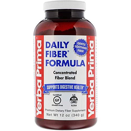 Yerba Prima, Daily Fiber Formula, 12 oz (340 g)