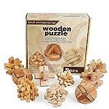MAGIKON Brain Teaser Cube Puzzle Toy- Level 6 of 10 (Brain teasers,Set of 9)