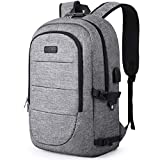 Anti-Theft Laptop Backpack,15.6-17.3 Inch Business Travel Backpack Bag with Lock with USB Charging &...