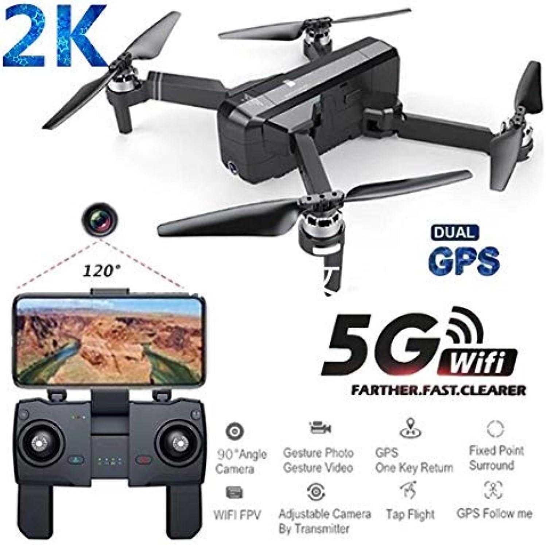 entrega gratis Amyove Cuadricóptero Teledirigido Sjrc F11 Pro GPS 5G 5G 5G WiFi FPV con 2k Cámara 25mins Tiempo de Vuelo sin Escobillas Selfie RC Cuadricóptero Teledirigido - 3 Batería  precio mas barato