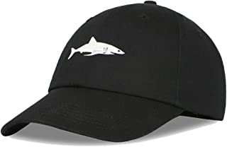 Whale Embroidered Baseball Cap Duck Tongue Hat Outdoor Leisure Cap