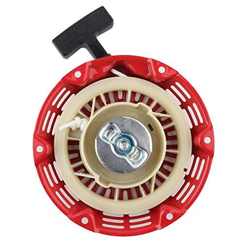 Mutuer Arrancador de Retroceso, generador de Gasolina Arrancador de Retroceso para generador 168F 170F 2-3KW (Peso: 396 g/14.0 oz)