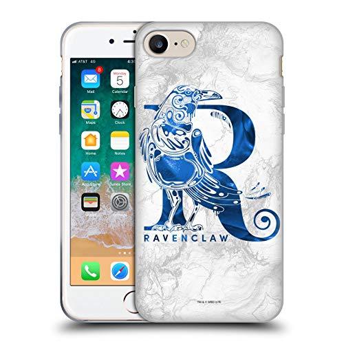 Head Case Designs Oficial Harry Potter Ravenclaw Aguamenti Deathly Hallows IX Carcasa de Gel de Silicona Compatible con Apple iPhone 7 / iPhone 8 / iPhone SE 2020