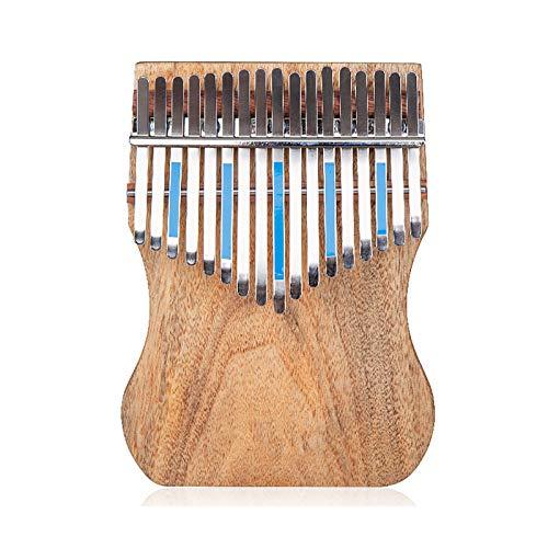 15    17 Keys Mbira Thumb Piano, Kalimba Holzfinger-Klavier Mit Tuning-Tool Und Bedienungsanleitung, Tragbares Musikinstrument, Für Kinder Erwachsene Anfängerfachleu K17CAP