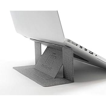 On the GO ノートパソコンスタンド PCスタンド 持ち運び便利 角度調整可能 リモートワーク Macbook Pro/Macbook Air/Lenovo/ASUS/SONY/Acer/DELL (グレー)