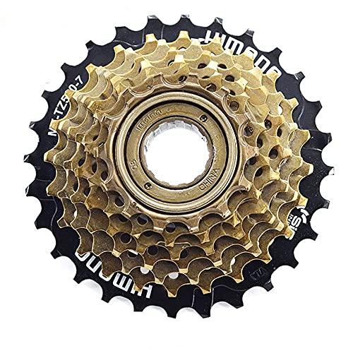 XUDAN Rueda Libre para Bicicleta De MontañA,Bicicleta Plegable Bicicleta 7s (11~28t) Accesorios para Montar con Volante Giratorio