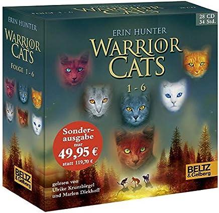 Warrior Cats 16 I Folge 16 gelesen von Ulrike Krubiegel und arlen Diekhoff Gesatbox 28 CDs 34 Std5 in by Erin Hunter