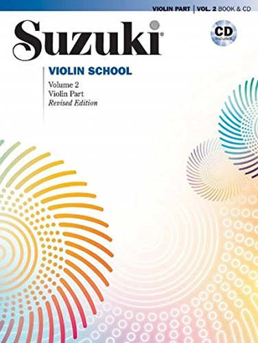 Suzuki Violin School 2 (Buch & CD) - New International Edition (Suzuki Violin School, Violin Part)