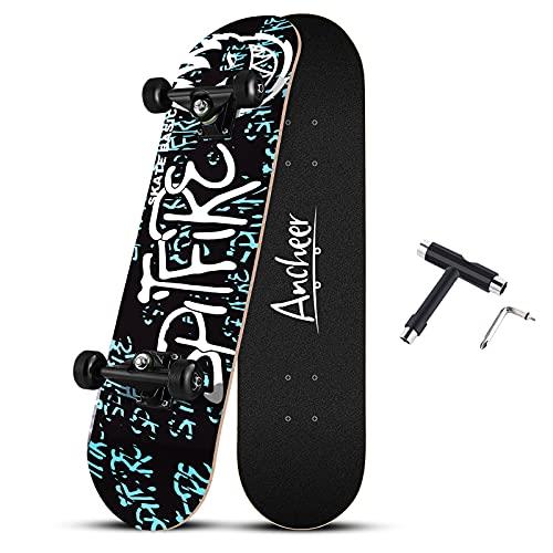 スケートボード スケボー 31インチ ABEC11製ベ...