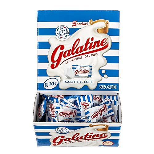 Galatine - Caramelle al Latte, Incartate Singolarmente - Box da 200 Pezzi