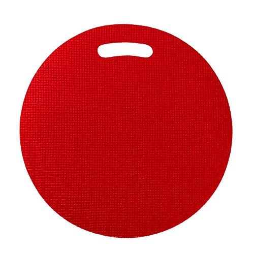Sitzkissen, Saunakissen, rot, Dampfbadkissen, Saunaunterlage bakterizid und fungizid durch Sanitized®- Veredelung