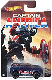 Hot Wheels Marvel Captain America Classics - RD-08 by