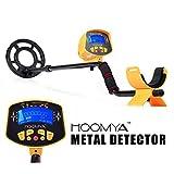 Detector de metales HOOMYA Alto Sensitive MD-3010II - Bobina de búsqueda impermeable de 8.2 pulgadas, ...