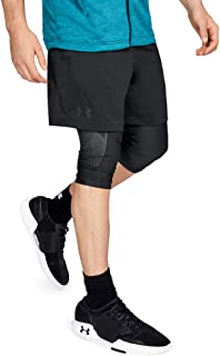Under Armour Men's Mk1 Shorts Running Shorts Crafted with HeatGear Technology, Modern Workout Shorts with Pockets and Tigh...