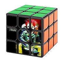 マジックキューブ 魔方 X JAPAN キューブパズル 立体パズル しいクリエイティブキューブ 大人/子供用 競技用 回転スムーズ スピードキューブ ストレス解消 脳トレ ポップ防止 達人向け 楽しいおもちゃ 知育玩具 ポップ防止