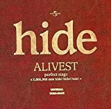 ALIVEST perfect stage<1,000,000 cuts hide!...[DVD]