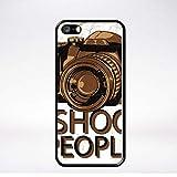 Générique Coque i Shoot People Compatible iphone 5 Bord Noir
