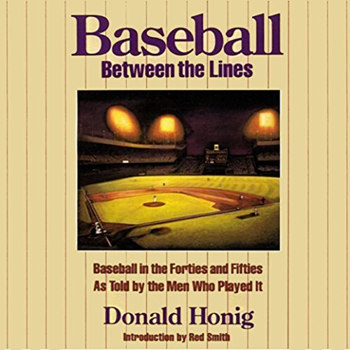 Baseball between the Lines audiobook cover art