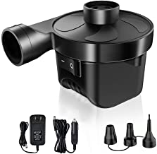 KOOLIFE Electric Air Pump for Pool Inflatables Air Mattress Air Bed Pool Floats Boat Quick Electric Air Pump