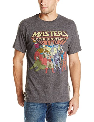Men's He-Man Masters Of The Universe Family Group Vintage T-Shirt