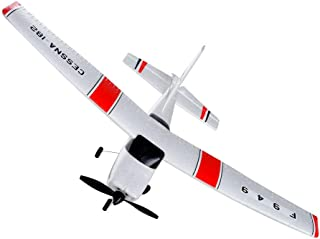 Wotryit WLtoys F949 3CH 2.4G RC Airplane RTF Glider EPP Composite Material 14+, Paper Aircraft Toys Indoors & Outdoors Easy to Fly
