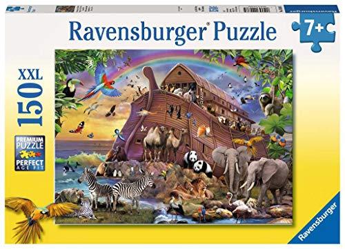 Ravensburger Kinderpuzzle 10038 - Unterwegs mit der Arche - 150 Teile