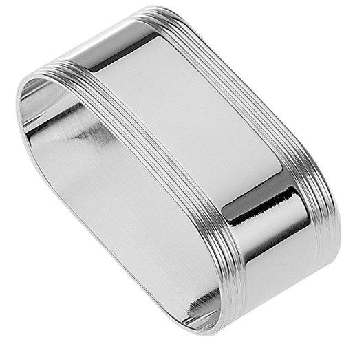 silberkanne Serviettenring 5,5x2,5 cm Silber Plated Premium versilbert in Top Verarbeitung für Stoffservietten