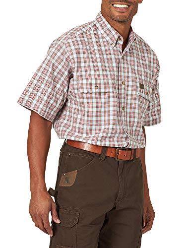 Wrangler Riggs Workwear - Camicia da lavoro a maniche corte da uomo - - S