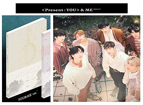 KPOP [YOU&ME ver.] PRESENT YOU&ME Edition Repackage 3rd Album 2CD + Photo Book + Photo Card + Lyrics Booklet + Special Gift