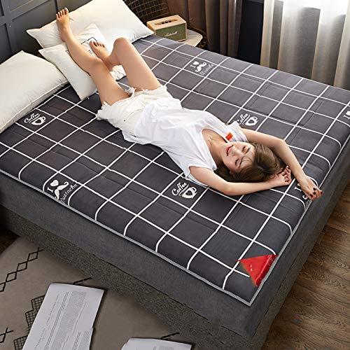 yidenguk Japanese Floor Futon Mattress,Foldable Traditional Sleeping Pad Mattress Matt Tatami Cushion Mats for Yoga Meditaion Home Camping
