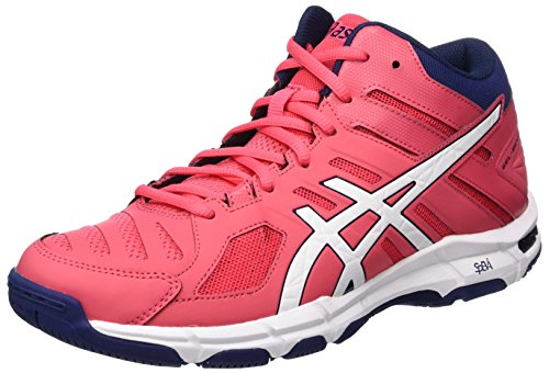 Asics ASICS Damen Gel-Beyond 5 Mt Gymnastikschuhe, Rot (Rouge Red/White/Indigo Blue), 39 EU