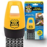 ID Police Protection Roller BulbHead Helps Stop ID Theft-Fast, Easy, Mess-Free, Self-Inking Identity Thief Stamp, Just One Roll Conceals Your Important Information, 1 Pack