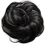 PRETTYSHOP parrucchino Hairpiece cravatta capelli updos crocchia ricci o disordinato, dive...