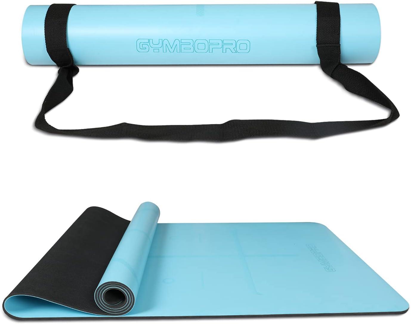 "PU Yoga Mat 72""X24"" Denver Mall Eco-Friendly Nonslip Very popular Natural Rubbe"