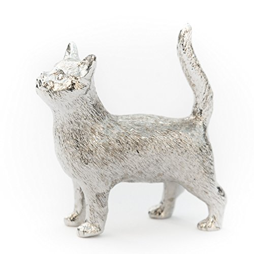 Gatto (in piedi) Made in UK, Collezione Statuetta Artistici Stile animale