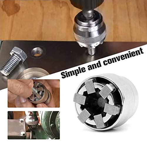 ghfcffdghrdshdfh Damaged Bolt Nut Screw Remover Extractor Removal Set Nut Removal Tool Kit