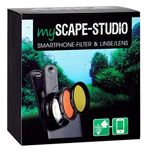 ARKA MyScape-Studio - Smartphone Filter und Makro-Linse für farbenprächtige detailreiche Fotos Ihres Aquariums